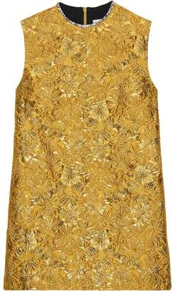 Gucci Floral brocade tunic top