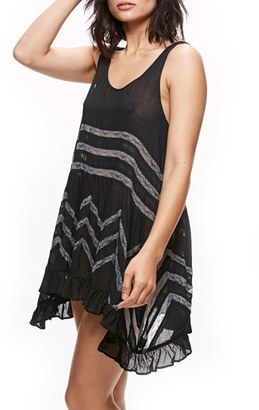 Women's Free People Swingy Lace Inset Tunic $88 thestylecure.com