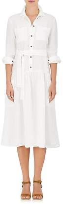 Tomas Maier Women's Linen Belted Shirtdress