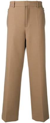 Oamc wide-leg pleated trousers
