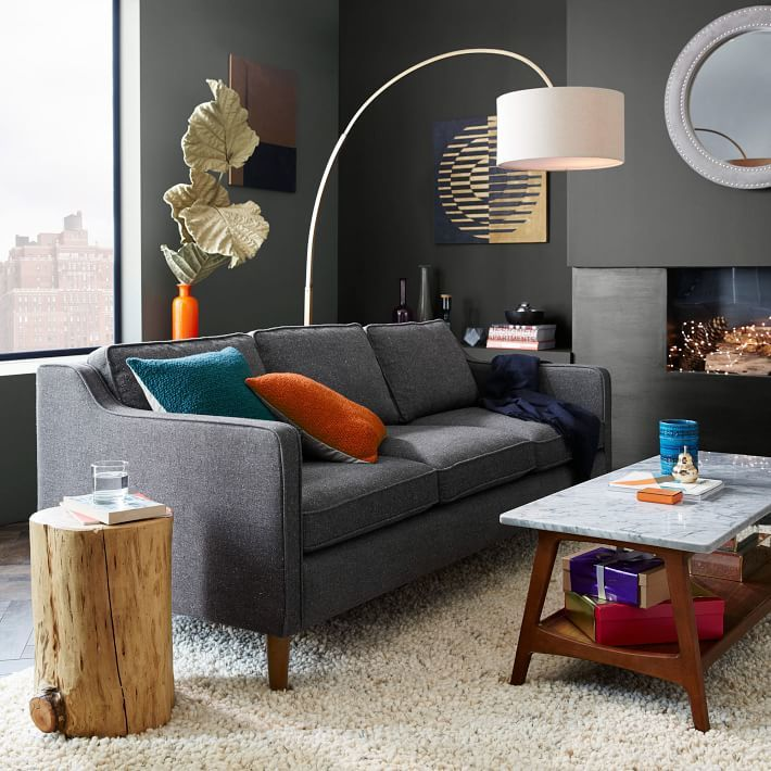 west elm Natural Tree Stump Side Table - ShopStyle Home