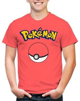 Pokemon Gaming Pokeball Men's Graphic Tee