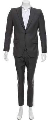 Alexander McQueen Pinstriped One-Button Suit
