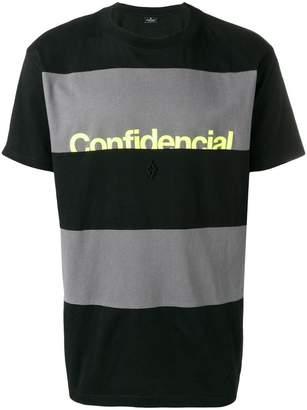 Marcelo Burlon County of Milan Confidencial T-shirt