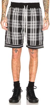 REPRESENT Tartan Shorts