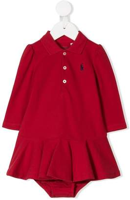 Ralph Lauren Kids polo dress and bloomers set