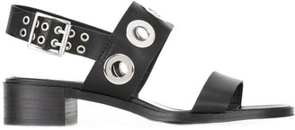 Diesel studded sandals $189.33 thestylecure.com