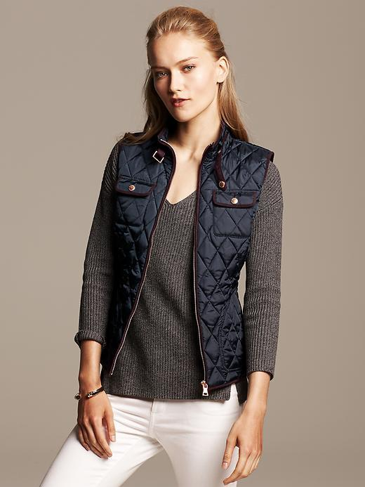 Banana Republic Quilted Vest