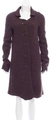 Rochas Long Wool Coat