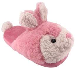 Wonder Nation Girls' Bunny Scuff Slipper