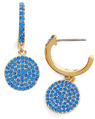 Women's Kate Spade New York Shine On Pave Drop Earrings $58 thestylecure.com