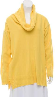 Amina Rubinacci Lightweight Cowl Neck Sweater