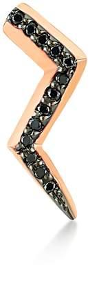 Black Diamond Selda Jewellery Lightning Earring Single