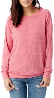 Alternative Apparel Slouchy Eco-Jersey Pullover $44 thestylecure.com