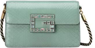 Gucci Python shoulder bag with Square G