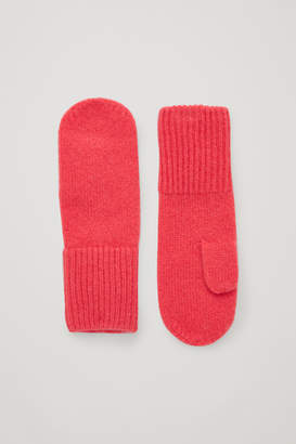Cos CASHMERE MITTENS