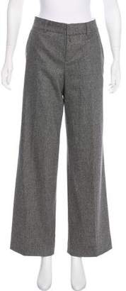 Strenesse Mid-Rise Wool Pants
