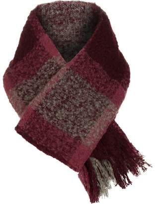 Woolrich Boucle Plaid Wrap Scarf - Women's