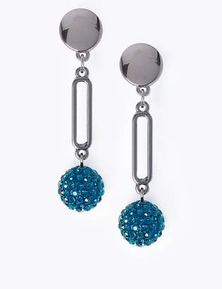 Marks and Spencer Disco Ball Drop Earrings
