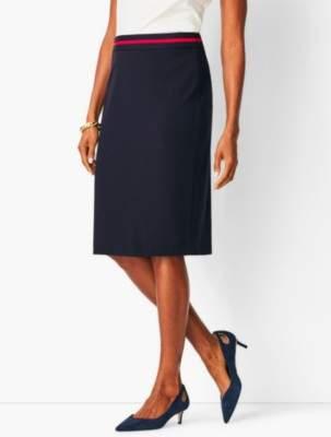 Talbots Italian Luxe Knit Pencil Skirt