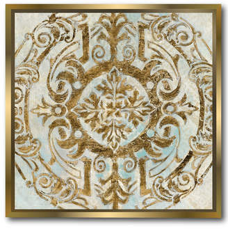 at Rue La La · Courtside Market Wall Decor Boho Medallion Gallery Framed Stretched Canvas Wall Art : framed medallion wall art - www.pureclipart.com