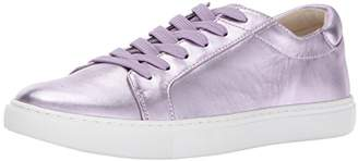 Kenneth Cole New York Women's Kam Low Profile Metallic Leather Fashion Sneaker