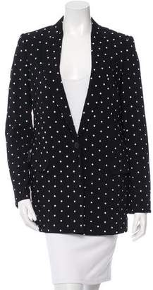 Givenchy Cross Print Blazer