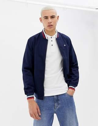 Lambretta Contrast Collar Harrington Jacket