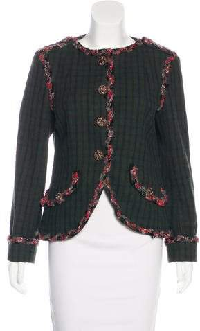 Chanel Paris-Edinburgh Wool Jacket