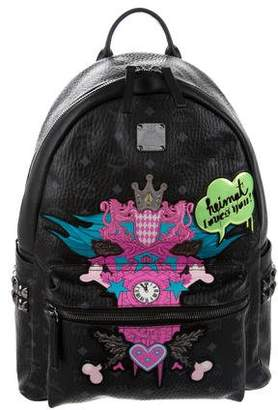 MCM Medium Heimat Loves You Backpack