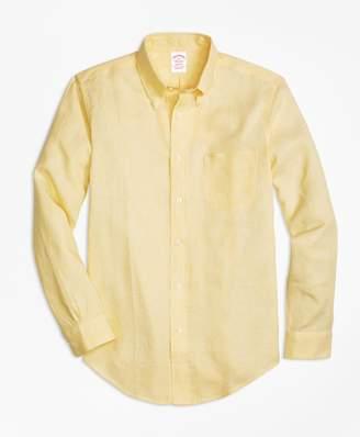 Brooks Brothers Madison Fit Irish Linen Sport Shirt
