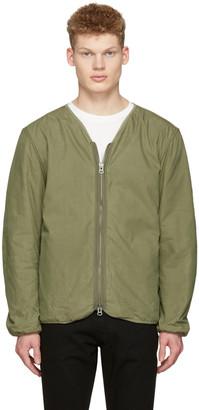 Saturdays NYC Green Khari Liner Jacket $265 thestylecure.com