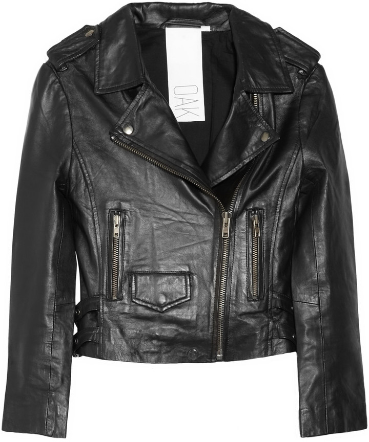 OAK Leather biker jacket