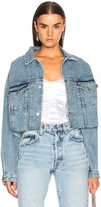 Miss Sixty Palmer Girls x Vintage Cropped Denim Jacket