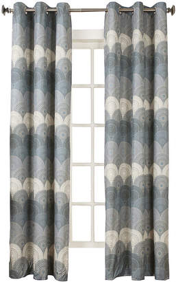 Sun Zero Sun ZeroTM Veda Thermal Lined Grommet-Top Curtain Panel