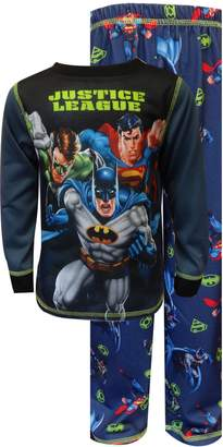 Komar Kids Justice League Coming For You Pajama Set for Big Boys