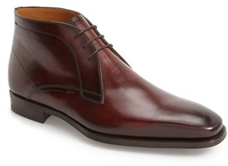 Men's Magnanni Gavin Chukka Boot $350 thestylecure.com