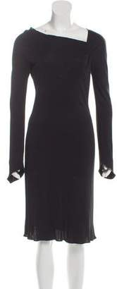 Giorgio Armani Ruched Evening Dress
