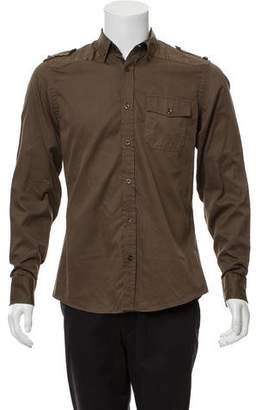Gucci Quilted Military Shirt