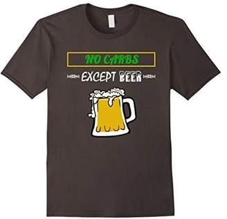 Funny No Carb T-shirt
