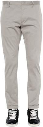 DSQUARED2 16.5cm Tidy Cotton Twill Chino Pants