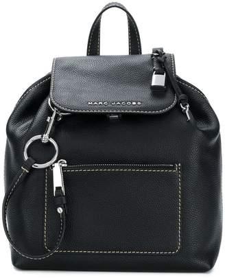 Marc Jacobs foldover logo backpack
