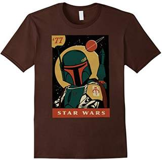 Star Wars Boba Fett Vintage Trading Card '77 Graphic T-Shirt