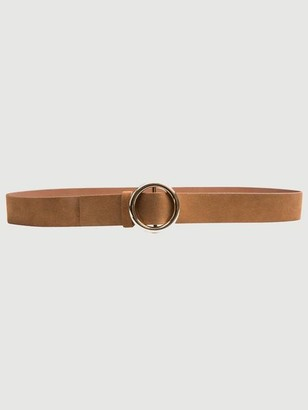 Frame O Ring Suede Belt
