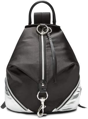 Rebecca Minkoff Julian Nylon Side Zip Backpack