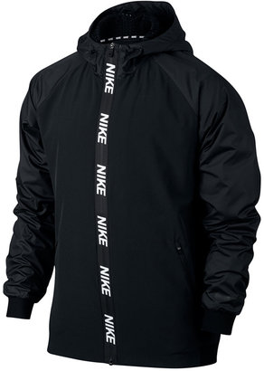 Nike Men's Dri-FIT Hooded Training Jacket $90 thestylecure.com