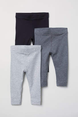 H&M 3-pack Pima Cotton Leggings