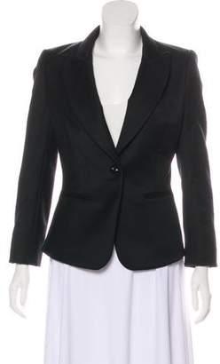 Rachel Zoe Twill Dress Blazer