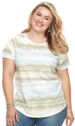 Sonoma Goods For Life Plus Size SONOMA Goods for Life Essential Crewneck Tee