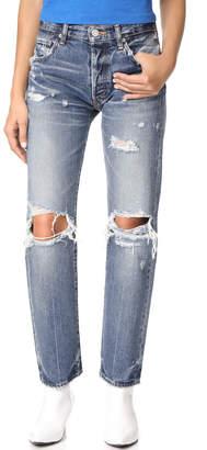 Moussy Vintage MV Tylar Straight Leg Jeans